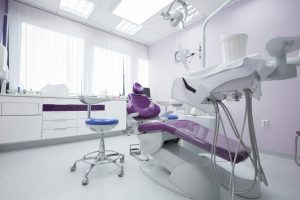 clean dental station before appointment