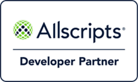 DoctorConnect / Allscripts Developer Partner Logo