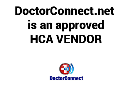 doctorconnect approved HCA Vendor