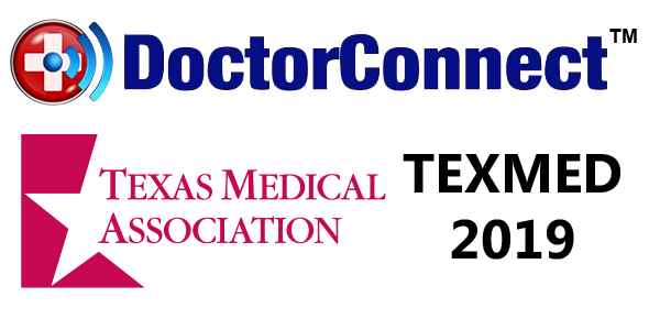DoctorConnect TexMed 2019 Logo
